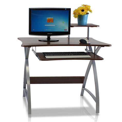 Grey Computer Desk Furinno Compact Oak Grey Computer Desk 11181gyw Bk The Home Depot