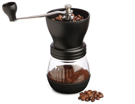 Coffee Burr Grinder Kyocera Ceramic Coffee Grinder Thinkgeek