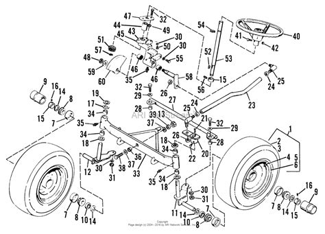 tie rod assembly diagram simplicity 990979 baron 3414s parts diagram for front