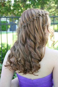 graduation hairstyles for middle school 1000 images about hair styles on pinterest waterfall