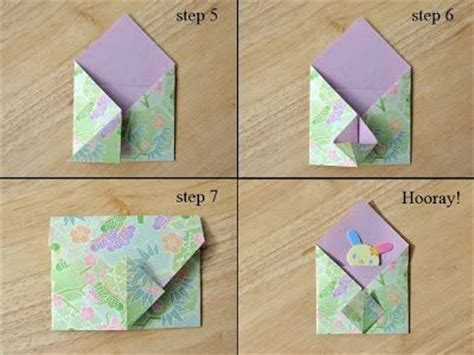 Square Origami Envelope - origami square envelope search papel caneta e