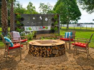 diy outdoor pit pergola pictures from cabin 2014 diy network