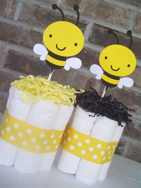 bumble bee cakes set of 6 baby shower decorations