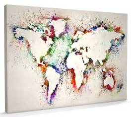 Canvas World Map by Pin 3d Art On Canvas On Pinterest
