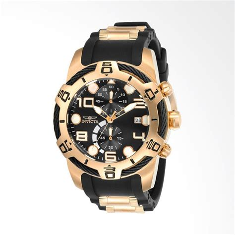 Jam Tangan Invicta Gold jual invicta bolt stainless steel silicone