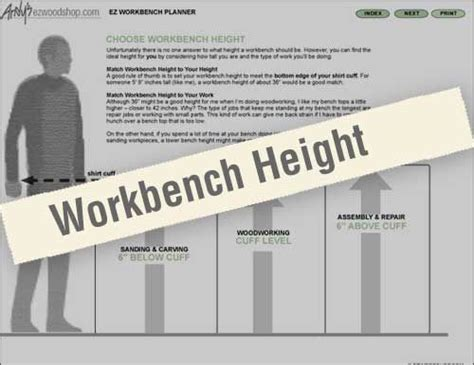 work bench height workbench designs google search home men s workshop