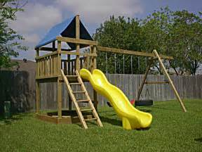 triton diy wood fort swingset plans jack s backyard