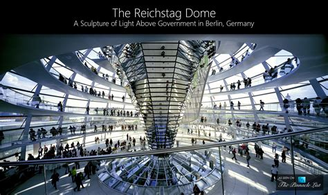Amazing Interior Design by The Reichstag Dome A Sculpture Of Light Above Government