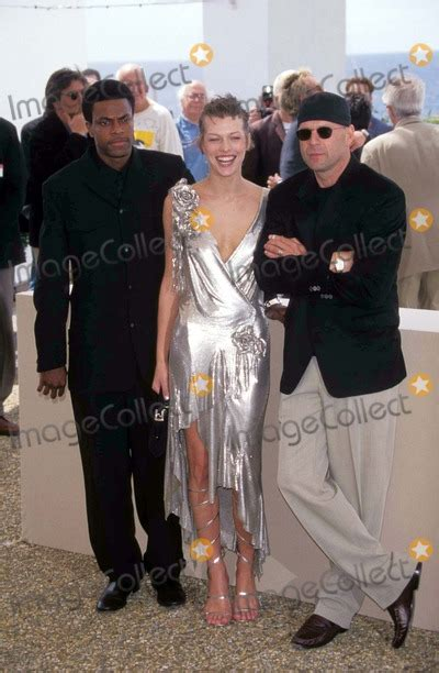 milla jovovich and bruce willis photos and pictures cannes film festival 5th element