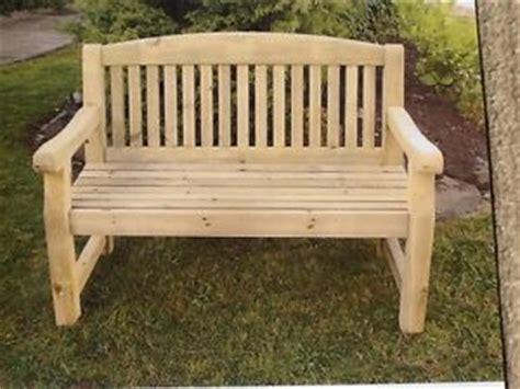 heavy duty garden benches athol 4ft heavy duty wooden garden bench ebay
