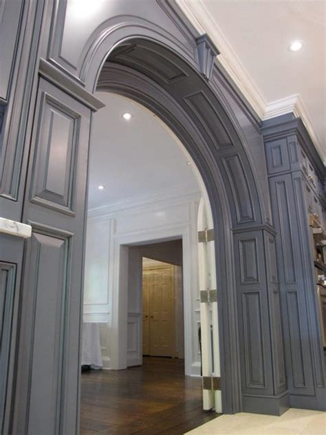 kitchen entrance arch maryland kitchen traditional