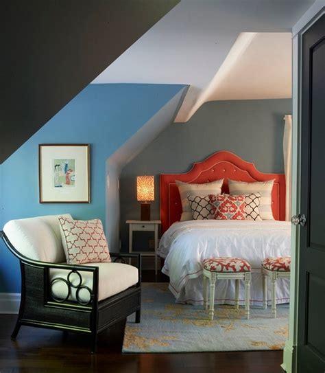 schlafzimmer dachschräge farbe schlafzimmer mit dachschr 228 ge gem 252 tlich gestalten freshouse