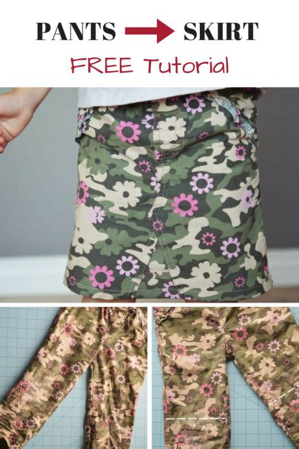 pattern for turning jeans into a skirt turn pants into a skirt tutorial from rags to riches