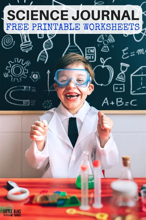 For Science free science worksheets and printable science journal pages