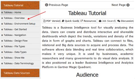 tableau tutorial training getting started with tableau
