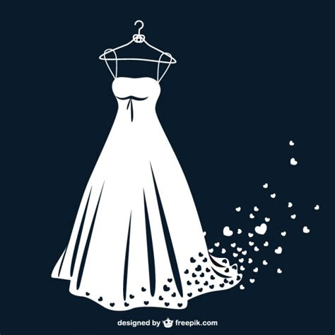 bajar imagenes de vestidos de novia gratis vestido de novia en blanco y negro con corazones