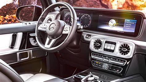 mercedes g wagon interior mercedes g class interior 2018 premiere