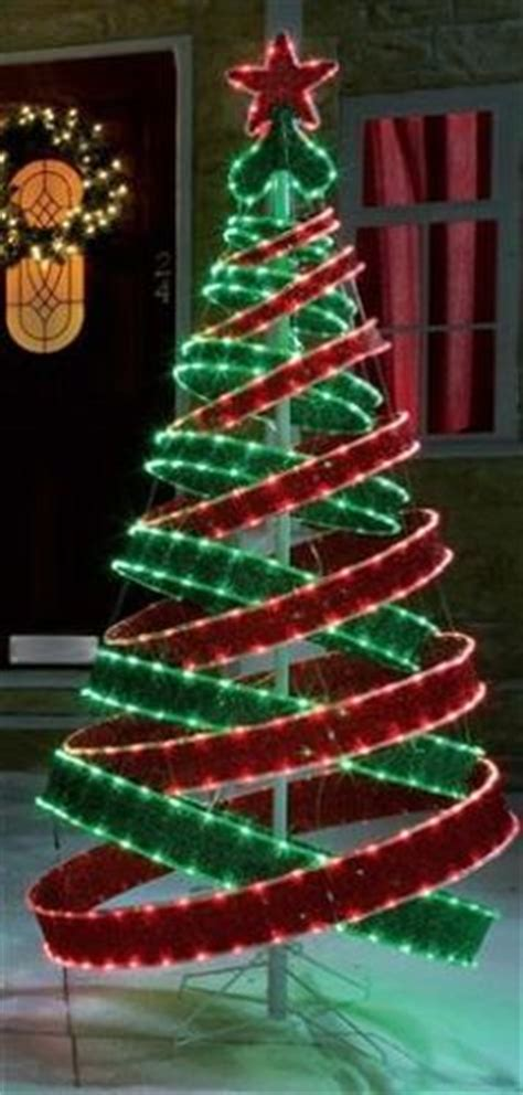 4ft outdoor white silver pre lit pop up spiral christmas