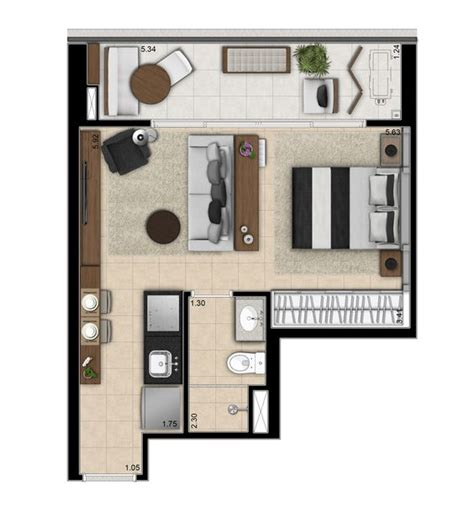 small apartment layout layout small