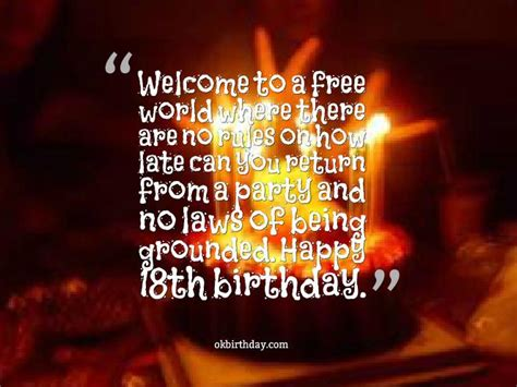 18 Year Birthday Quotes Happy Birthday To The Prettiest Eighteen Year Old In The