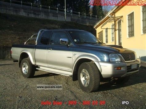 2002 mitsubishi l200 club cab 2 5td gls car photo and specs mitsubishi vehicles with pictures page 31