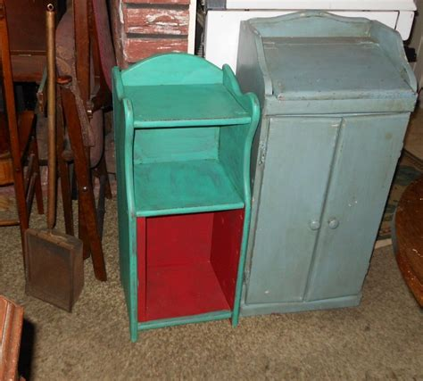 shabby chic floor ls small floor standing shabby chic hutch collectors weekly