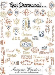 monogram ideas monogram embroidery software embroidery designs