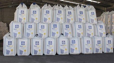 fertiliser storage yara australia