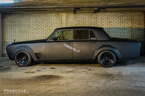 murdered rolls royce murdered out rolls royce silver shadow looks out of this