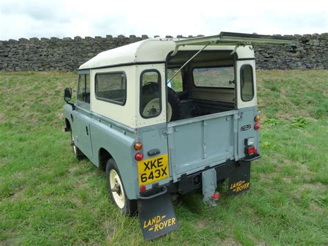 land rover series 1 hardtop xke 643x 1982 land rover series 3 hard top with side