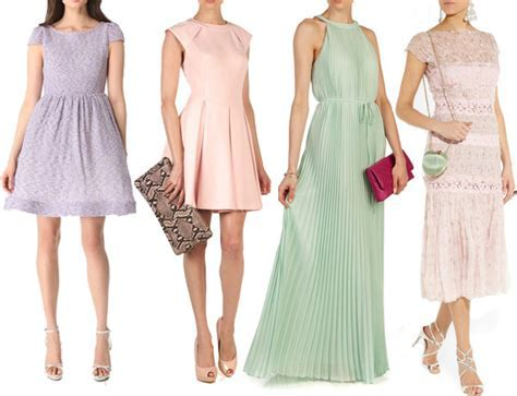 Wedding Guest Dresses for Spring 2013   Spring Pastel
