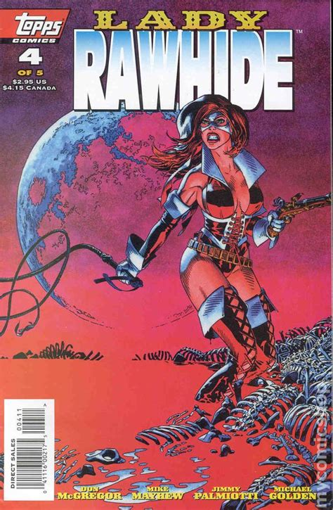 Rogue 1995 1st Series Autographed rawhide 1995 1st series comic books