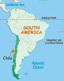 chile location on world map the visionary s cascadas en chile