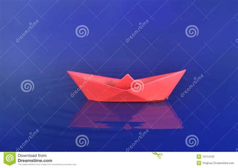 origami boat real origami boat stock photos image 12114123
