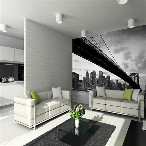 1 wall mural 1 wall wallpaper mural new york nyc bridge3 15m x 2 32m