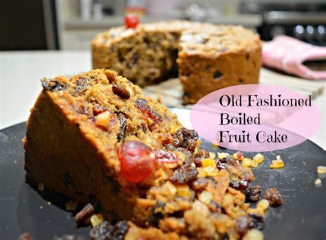 6 fruit cake recipe fashioned fruit cake recipe