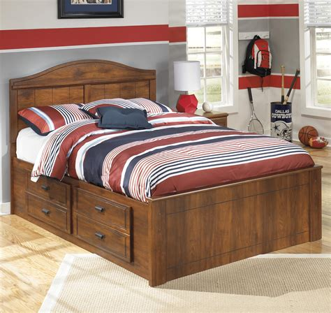 ashley furniture full bed ashley signature design barchan full panel bed with