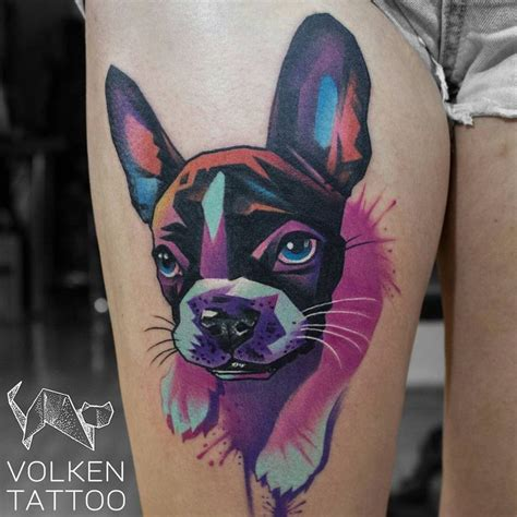 watercolor tattoo boston 25 best ideas about bulldog on