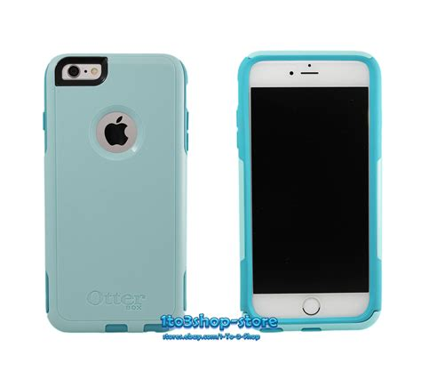 otterbox commuter 2 layer for iphone 6 plus iphone 6s plus blue teal ebay