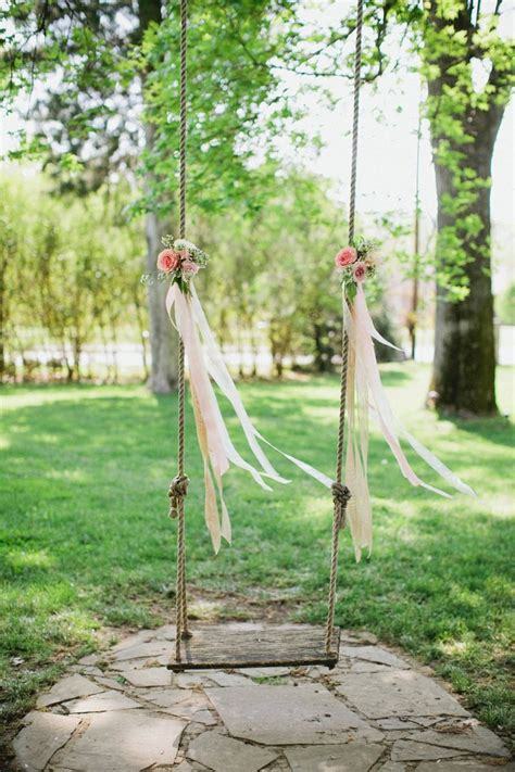 swing in tree wedding tree swing