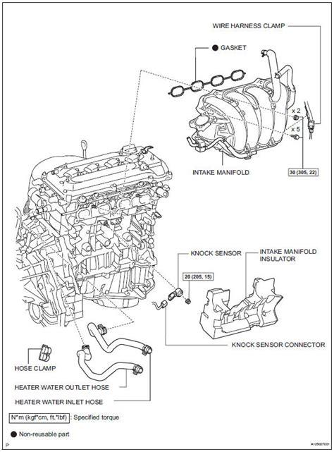 Sensor Ckp Toyota Camry 2az toyota rav4 service manual components knock sensor
