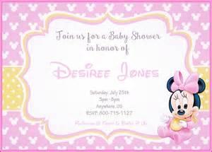 invitaciones baby shower minnie mouse bebe archivos imagenes minnie
