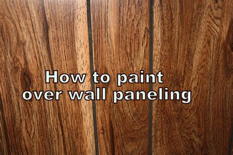 How To Paint Paneling | how to paint laminate paneling how to