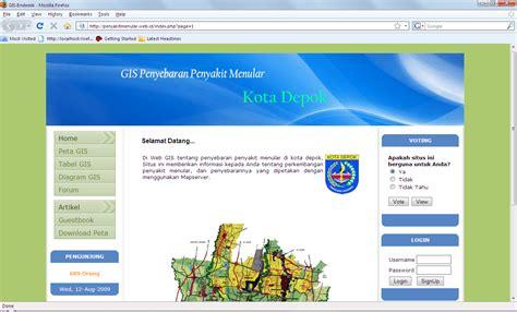 tutorial membuat website gis cara membuat webgis menggunakan mapserver dan php