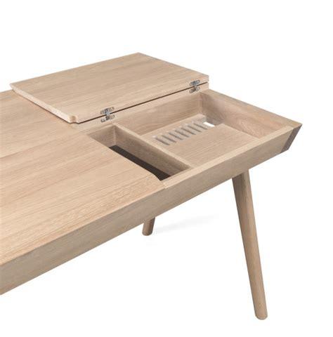 design milk desk metis a solid wood desk with plenty of storage design milk