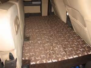 dog bed   rear seat fold  platform diesel forum