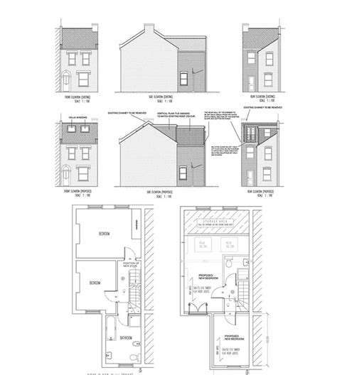 Dormer Extension Plans 1000 Images About Home Loft Conversions On
