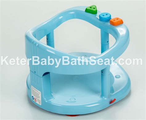 baby bathtub seat ring keter baby bath tub ring seat color blue