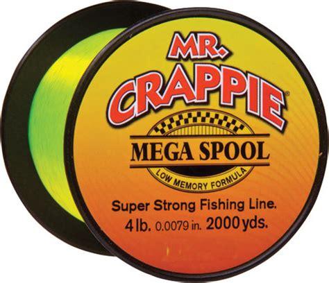 crappie mega spool lb  yd hivis natchez