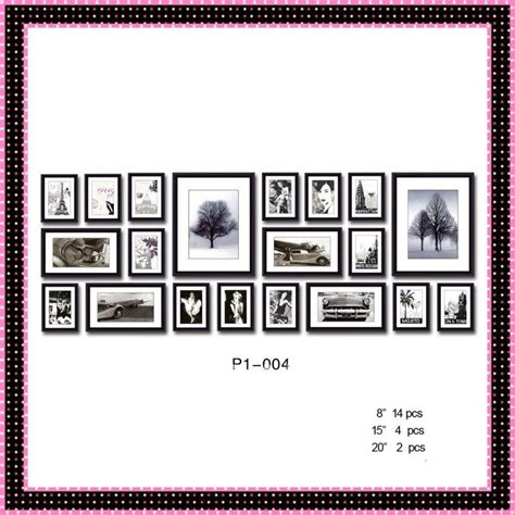 wall templates for hanging pictures wood specialist choice wood photo frame kit